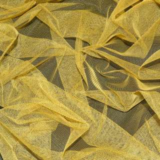 Сетка мягкая тонкая желто-серая ш.165