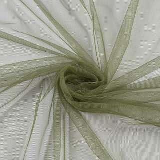 Сетка мягкая тонкая оливковая, ш.160