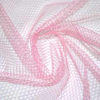 сітка велика (жестк.) блідо-рожева ш.150