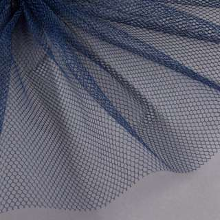Сетка жесткая соты темно-синяя ш.150