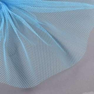 Сетка жесткая соты голубая ш.150