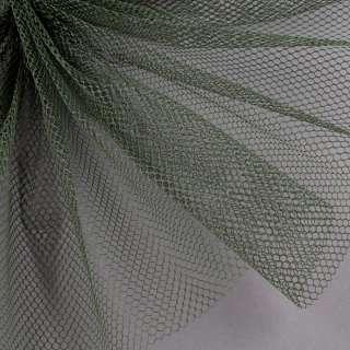 Сетка жесткая соты зеленая темная ш.155