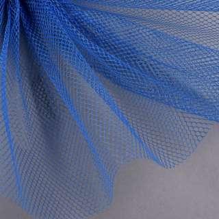 Сетка жесткая соты синяя ш.155