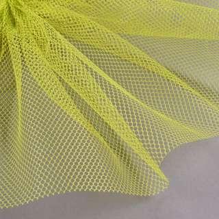 Сетка жесткая соты зеленый лайм ш.155
