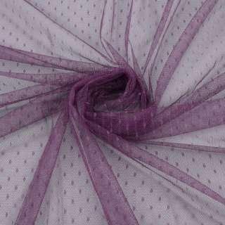 Сетка мушка мелкая фиолетовая сливовая, ш.160