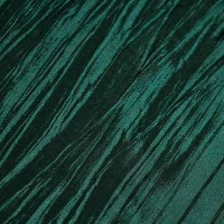 Тафта жатая зелено-черная ш.130