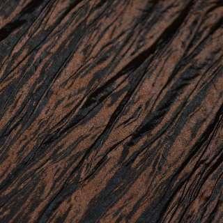 Тафта жатая темно коричневая ш.130