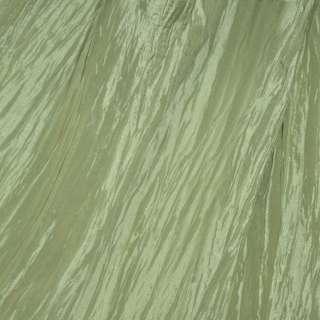 Тафта жатая оливковая ш.130