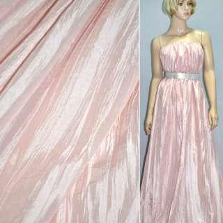 Тафта жатая бледно розовая ш.130