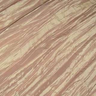 Тафта жатая золотисто розовая ш.130