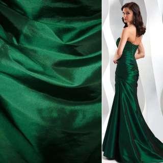 Тафта зелено-черная ш.150