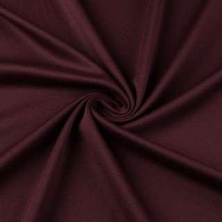 Трикотаж костюмний бордовий ш.150