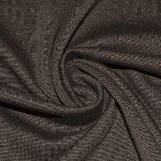 Трикотаж костюмний коричневий ш.150