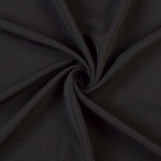 Джерсі трикотажне чорне ш.150