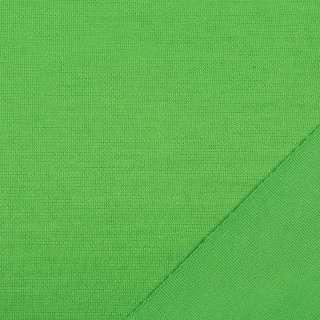 Трикотаж костюмный двухсторонний зеленый, ш.150