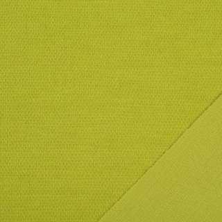 Трикотаж костюмний двосторонній гірчичний, ш.150