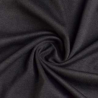 Французский трикотаж серый темный ш.145