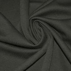 Трикотаж французский серый темный ш.160