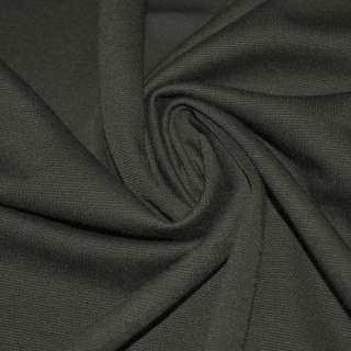 Французский трикотаж серый темный ш.160