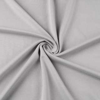 Французский трикотаж серый светлый ш.170