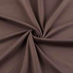 Трикотаж французький коричнево-червоний ш.150