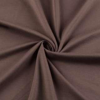 Французский трикотаж коричнево-красный ш.150