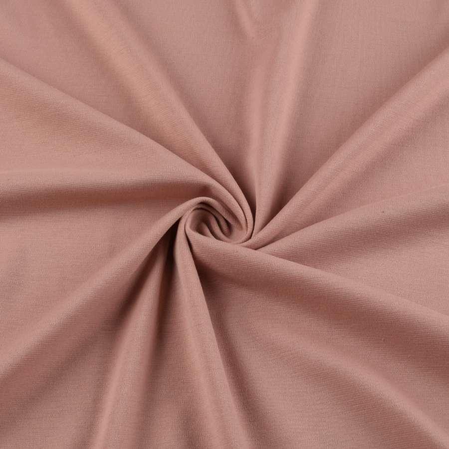 Трикотаж французький оранжево-рожевий ш.150