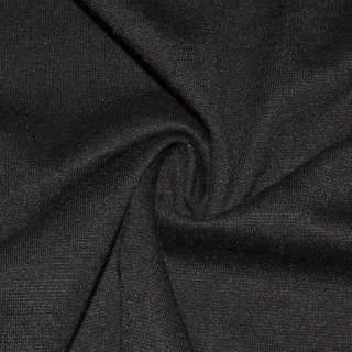Трикотаж французский черный ш.160