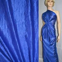 Кристаллон трикотажный синий ш.150