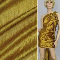 Кристаллон трикотажный золотистый ш.150