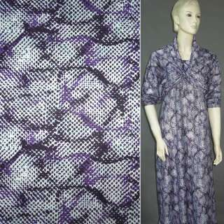 Трикотаж под фиолетовую змею ш.160