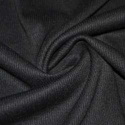 трикотажная резинка черная ш.134