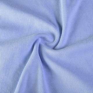 Резинка манжетная (рукав) голубая (бледно-васильковая) ш.116