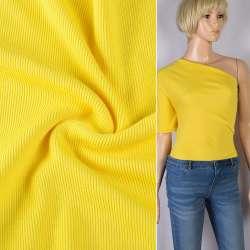 Резинка манжетная (рукав) желтая янтарная ш.124