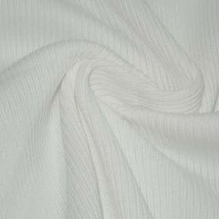 Трикотажное полотно резинка белая ш.70