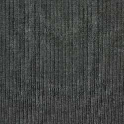 Трикотажное полотно резинка (манжет) темно-серая ш.70