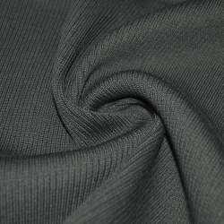 Трикотажное полотно резинка (манжет) асфальт ш.70