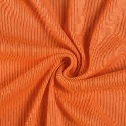 Трикотажная резинка оранжевая ш.130