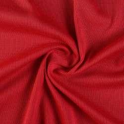 Трикотажна резинка червона темна ш.130