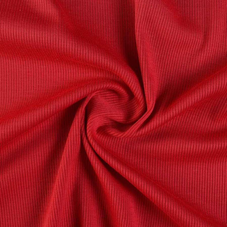 Трикотажная резинка красная темная ш.130
