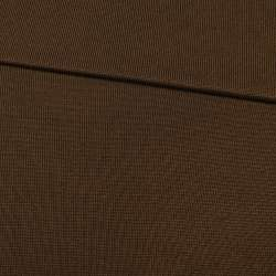 Трикотажное полотно резинка коричневое, ш.80