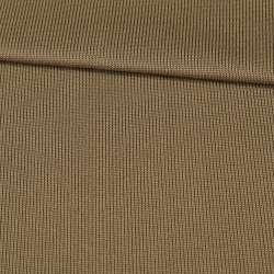 Трикотажное полотно резинка коричневое светлое, ш.80