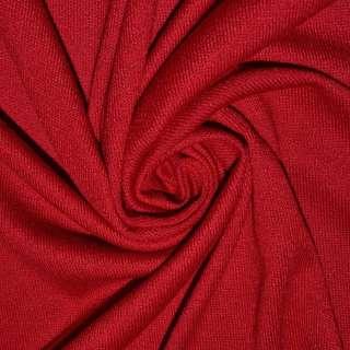 Трикотаж акриловий червоний ш.180