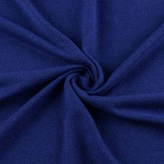 Трикотаж акриловый синий (электрик) ш.175