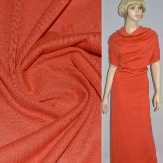 Трикотаж акриловый оранжево-красный ш.170