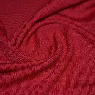 Трикотаж акриловый красный ш.170
