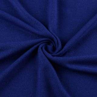 Трикотаж акриловый синий (электрик) ш.170
