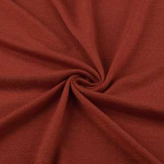 Трикотаж акриловый рыже коричневый ш.170