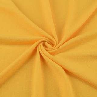 Трикотаж акриловый желтый ш.170