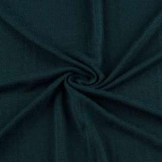 Трикотаж темно бирюзовый акриловый ш.150